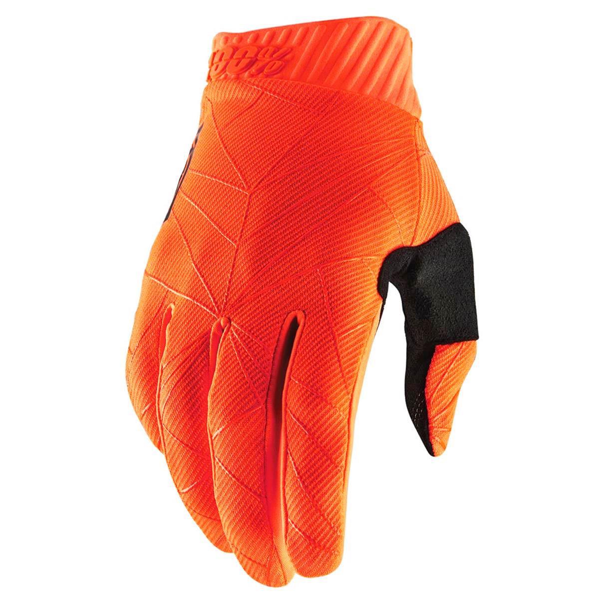 BIKE GLOVES RIDEFIT Orange/Black
