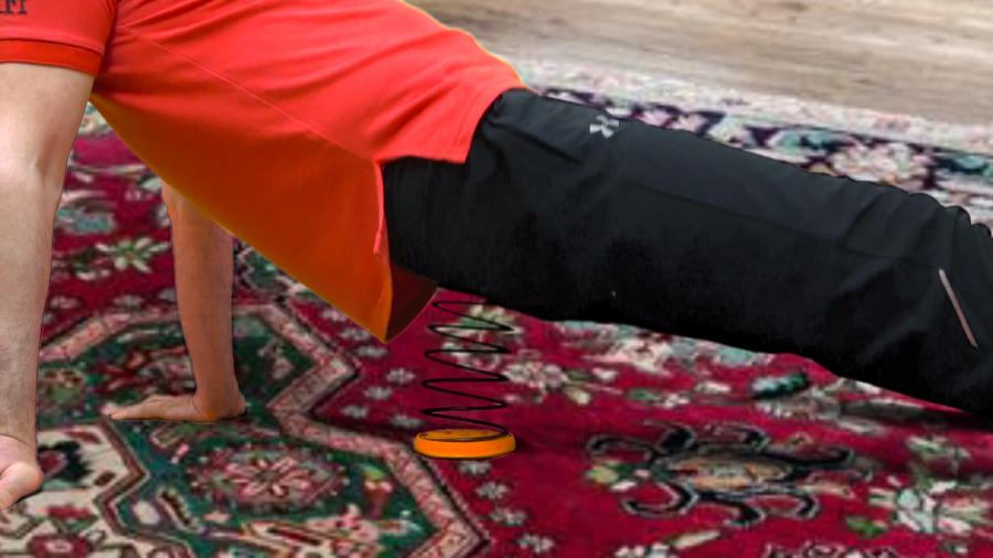 back Pelvic floor muscle